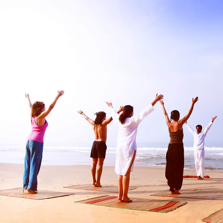 Yoga and fitness tours and activities in Greece