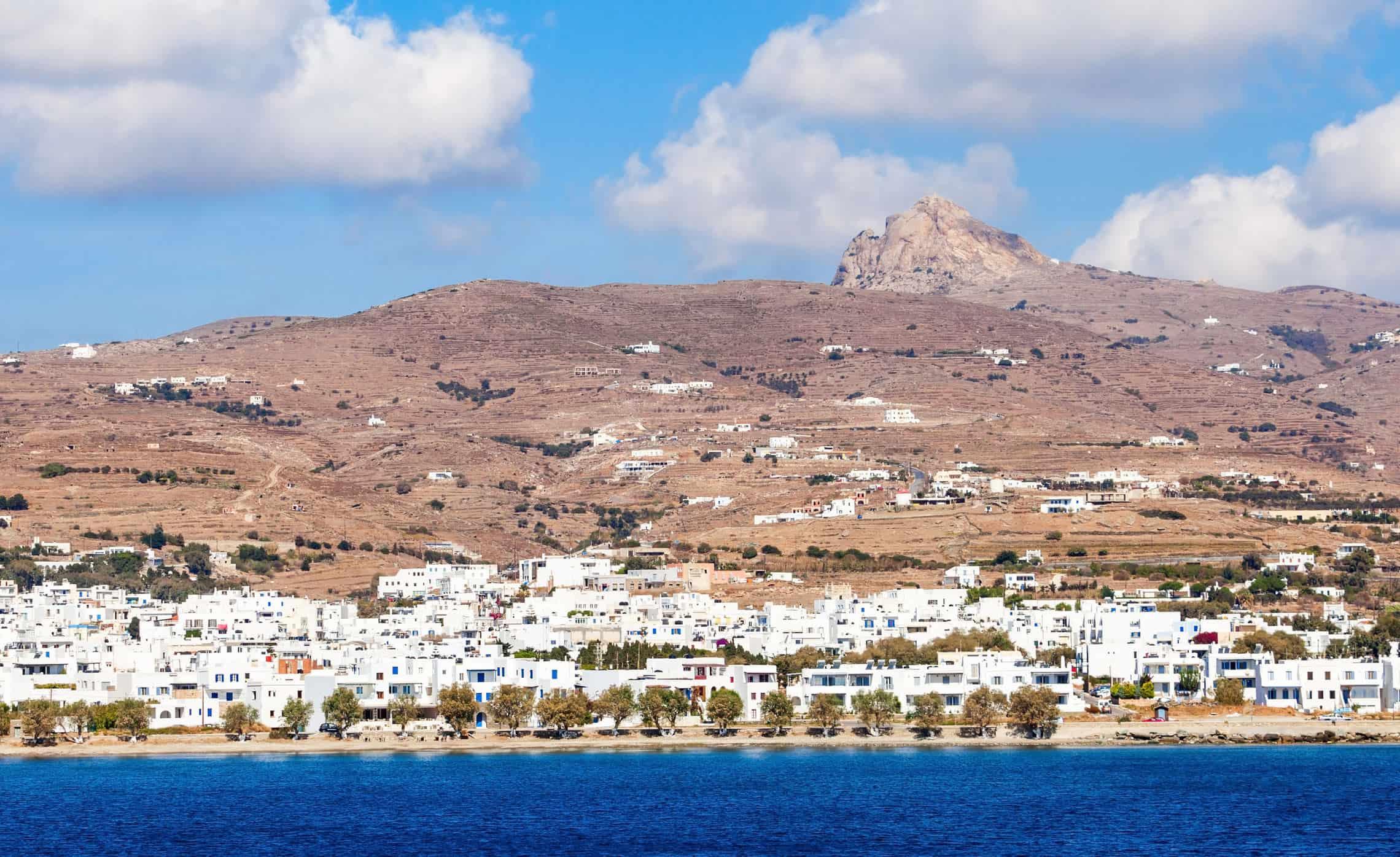 Village In Tinos Island