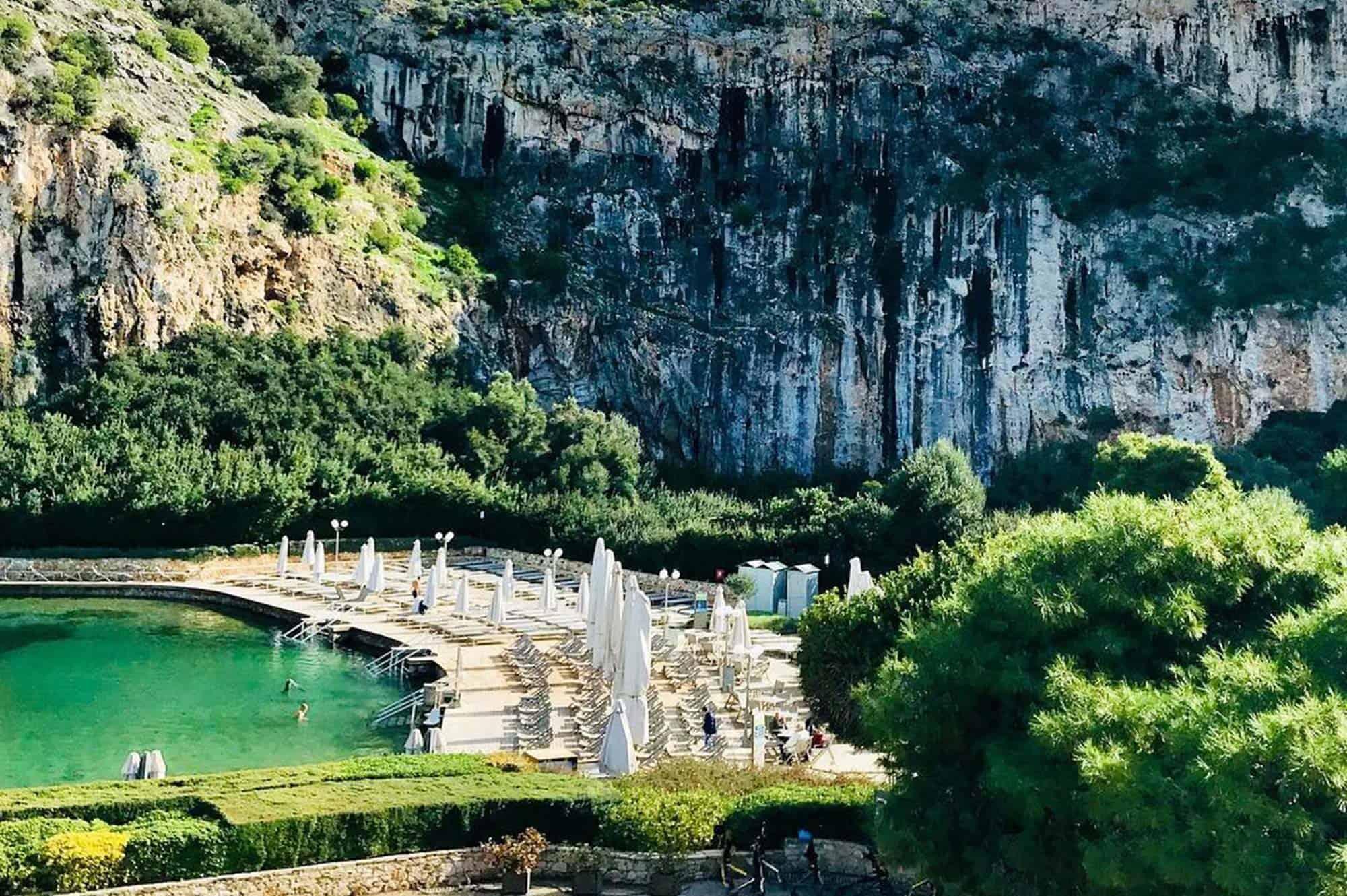 vouliagmeni lake tour